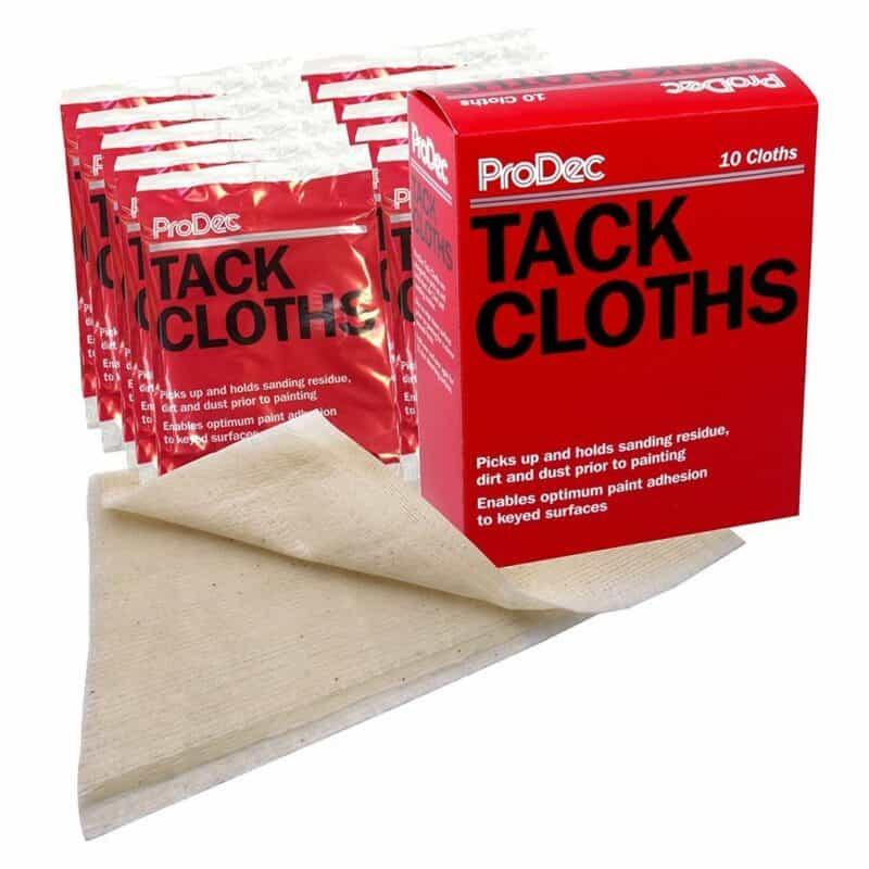 Decorators tack cloths