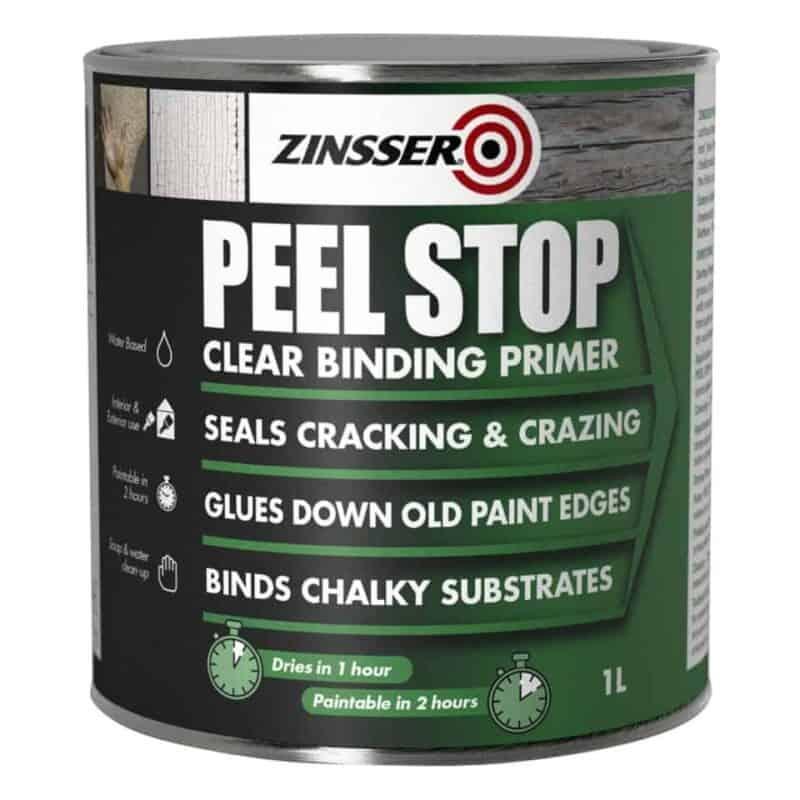 Peel stop primer